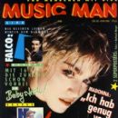 Madonna - Music Man Magazine Cover [Austria] (September 1986)