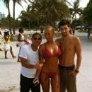 Amber Rose in Miami Beach, Florida - June 19, 2010