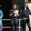 Gemma Atkinson – Key 103 Radio station Cash For Kids Super Hero Day in Manchester - 454 x 602