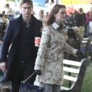 "Leighton Meester: on the New York City set of ""Gossip Girl"""