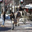 Lori Loughlin goes out on Christmas Eve to do a little last minute shopping in Aspen, Colorado on December 24, 2014 - 454 x 324