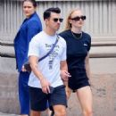 Sophie Turner and Joe Jonas – Out for lunch in New York City