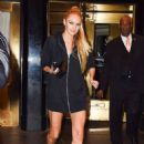Candice Swanepoel Leaves her hotel in New York - 454 x 682