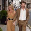 Annabelle Wallis on date night in London