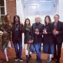 Nikki Sixx and wife Courtney with friends