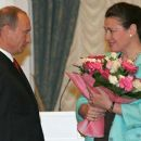 Valentina Tolkunova, Vladimir Putin