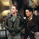 Kar (Seann William Scott) and the Monk (Chow Yun Fat) infiltrate the house of Jade