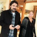 Bulent Inal and Melis Tuysuz - out and about