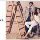Hilary Rhoda for Sarar Spring/Summer 2014 ad campaign
