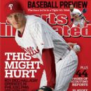 Roy Halladay - Sports Illustrated Magazine Cover [United States] (2 April 2010)