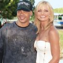 Jaime Pressly and Eric Cubiche