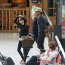 Eva Longoria: jet out of Nice Airport