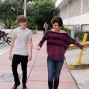 Selena Gomez and Justin Bieber - Miami Beach - 2010-12-18