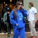 Kourtney Kardashian and Addison Rae – Leave the Greenwich Hotel in New York