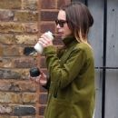 Emilia Clarke – Shopping at Planet Organic in London
