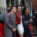 Sofia Carson – Descendants 2 promotion Aboard a London Bus - 454 x 573