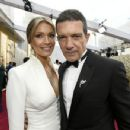 Antonio Banderas and Nicole Kimpel At The 92nd Annual Academy Awards - Arrivals