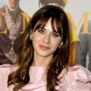 Zooey Deschanel – In Pink Short dress at 'Emma' premiere in Los Angeles - 454 x 616