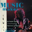 Jimmy Page - Music Maker Magazine Cover [Netherlands] (January 1991)