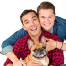 Conrad Ricamora, Joshua Cockream and Wilbur photographed by Charlie Nunn Photography (September 2018)