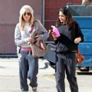 Vanessa Hudgens an Ashley Tisdale OUT AND ABOUT on February 2, 2012