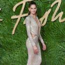 Izabel Goulart–2017 Fashion Awards in London - 454 x 681