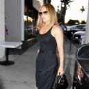 Jennifer Lopez – In all-black ensemble as she arrives at Craig's for dinner
