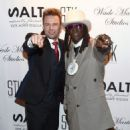Wade Martin's premiere of music videos by Flavor Flav  at STK at The Cosmopolitan of Las Vegas on September 1, 2015 in Las Vegas, Nevada - 454 x 587