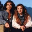 Jane Seymour and Joe Lando in Dr. Quinn, Medicine Woman (1993)
