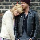 Aaron Paul and Imogen Poots