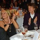Mariella Frostrup and Mick Jagger