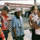 L-R: Jeff Gordon, Angela Robinson, Justin Long, Breckin Meyer. Photo credit: Richard Cartwright. - 454 x 299