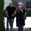 Ashlee Simpson Leaving Tracey Anderson Gym In Studio City