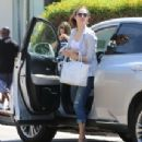 Emmy Rossum Out and about candids in Studio City, July 31th 2015