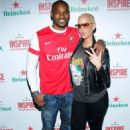 Amber Rose attends the Heineken Inspire Encore event at Basketball City Pier in New York - November 12, 2010 - 454 x 653