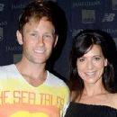 Perrey Reeves and Aaron Fox (tennis Coach) - 350 x 441