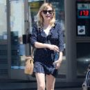 Kirsten Dunst in Short Dress out in Los Angeles