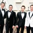 Gwilym Lee, Allen Leech, Joseph Mazzello, and Ben Hardy At The 91st Annual Academy Awards - Arrivals - 454 x 303