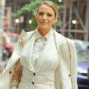 Blake Lively – Arrives to promote her film 'A Simple Favor' in New York