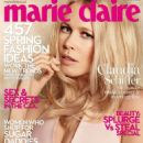 Claudia Schiffer Marie Claire UK March 2014