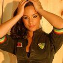 Alicia Keys - Anthony Cutajar Studio Photo Shoot, May 2004