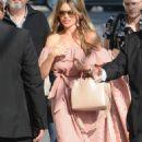 Sofia Vergara – Arrives at Jimmy Kimmel Live in Hollywood