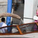 Adriana Lima – Visiting the Fondaco dei Tedeschi in Venice