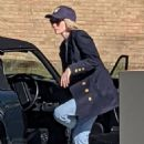 Kristen Stewart – Looks exactly like Princess Diana on the set of 'Spencer' in London