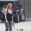 Alicia Silverstone – Walking her dogs in Hollywood