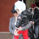 Christina Aguilera: Family Time In The Big Apple