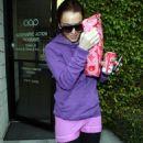 Lindsay Lohan - Leaving Traffic School In Hollywood, 13.02.2008.