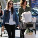 Holly Miranda and Katherine Moennig