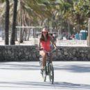 Imogen Thomas In Swimsuit On Jumeirah Beach