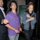 Sophie Turner and Joe Jonas – Leaving Novikov restaurant in Mayfair